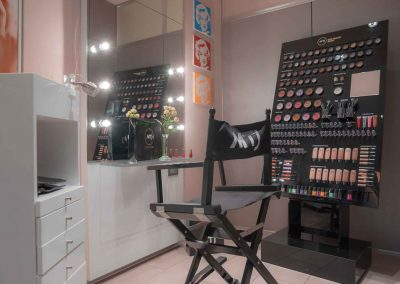 Estetica Beauty Club Postazione Make-up